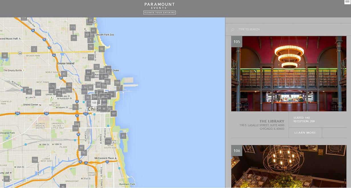 Chicago Venue Search Tool