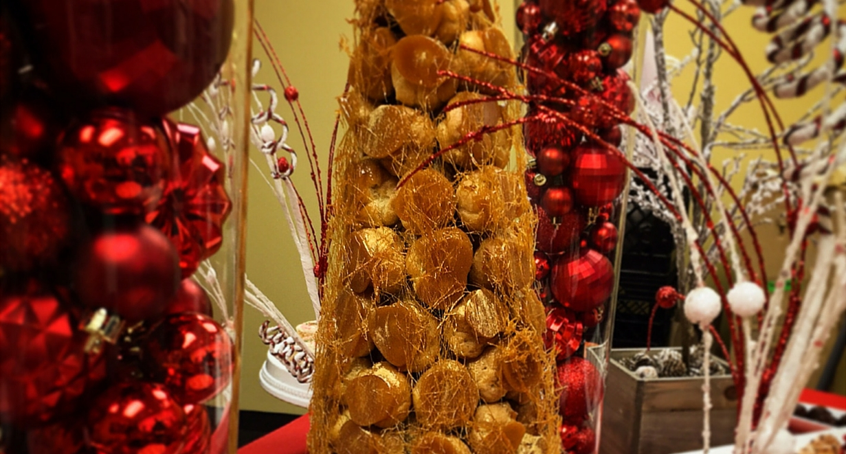 Croquembouche Holiday Party