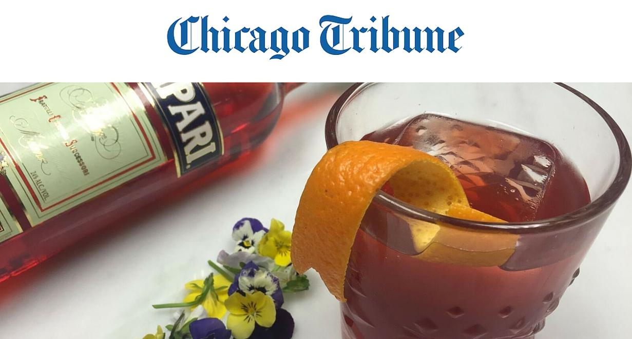chicago tribune, negrone week