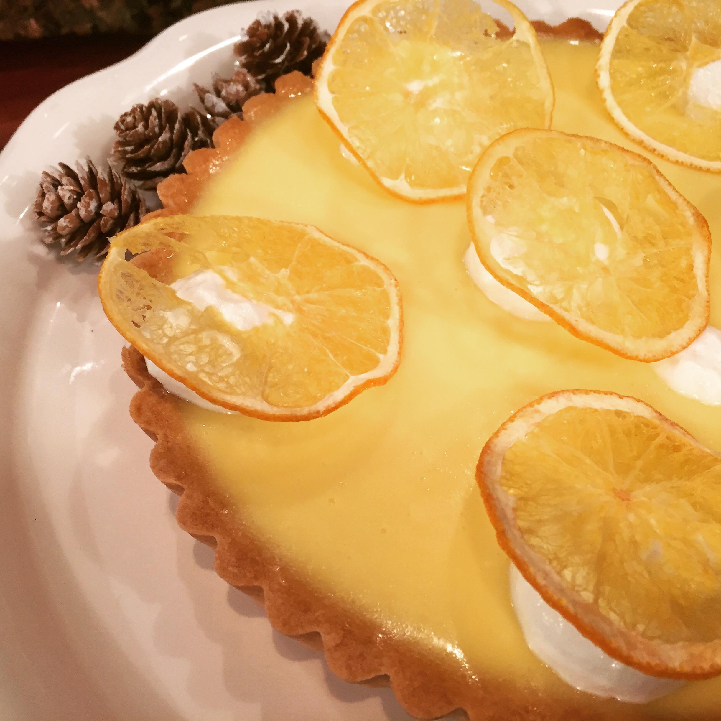 Chef Stefanos Orange Tart