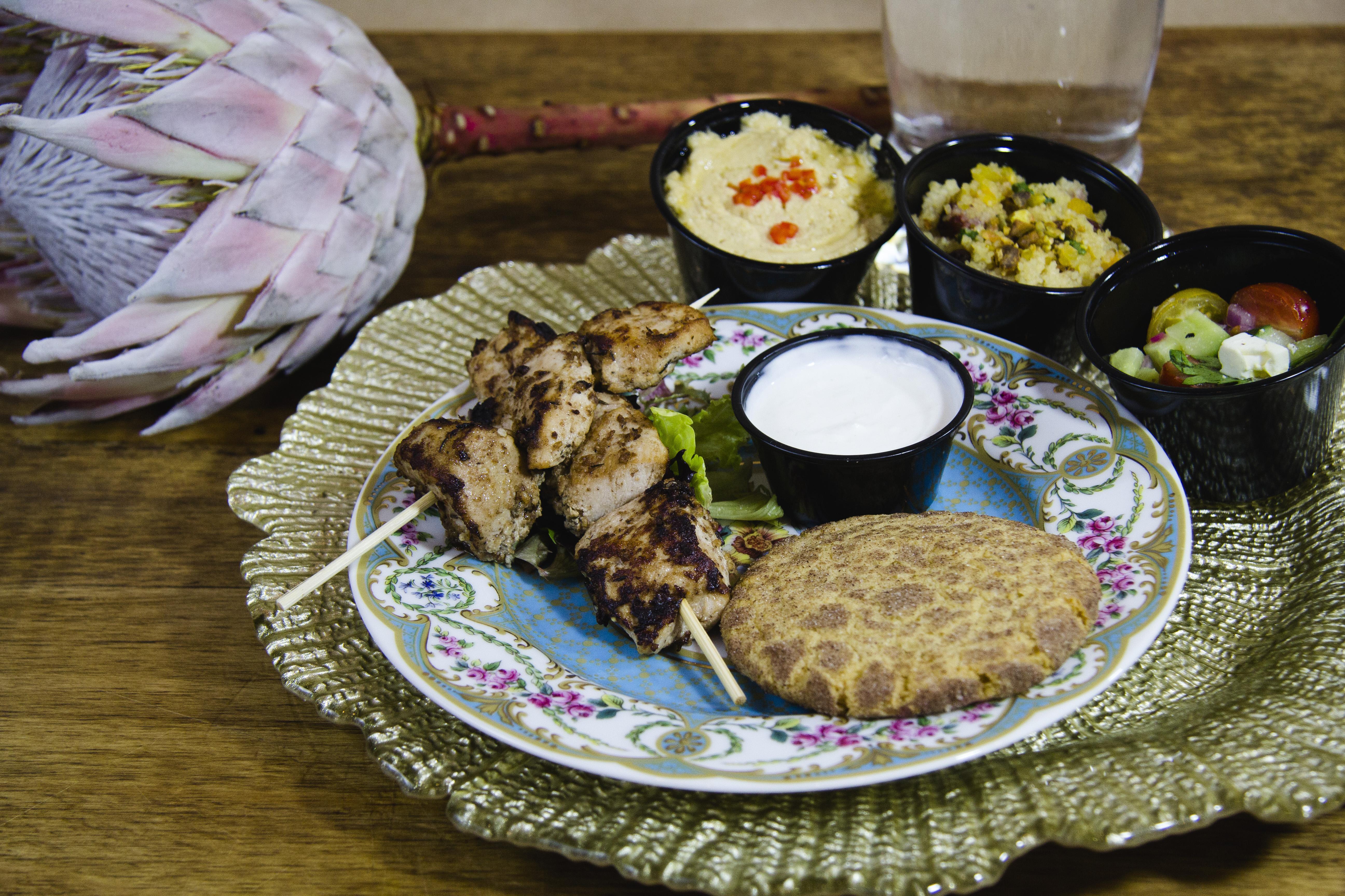 mediterranean lunch