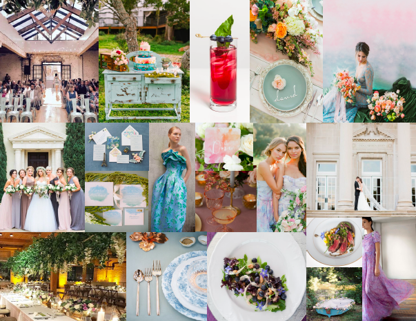 spring trend and Monet Garden inspiration