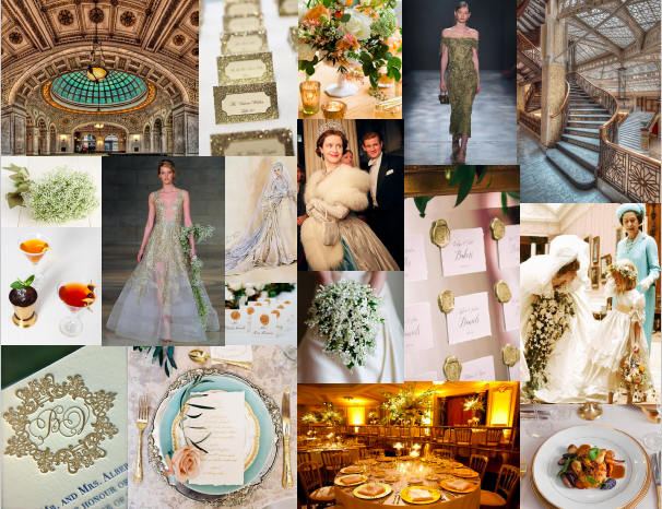 spring trend and royal wedding inspiration