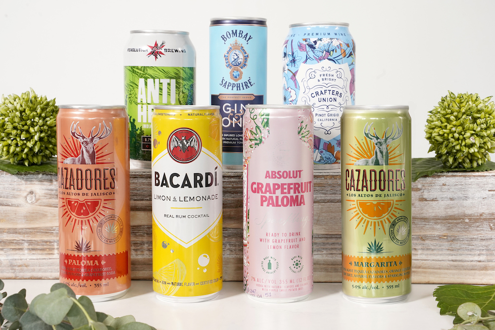 Canned Beverages for Events