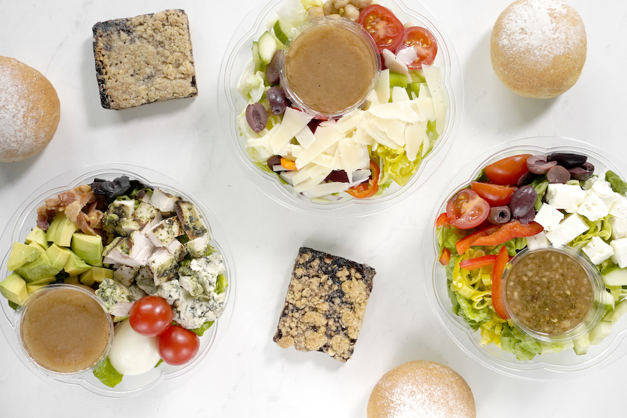 Healthy Salad Office Meals